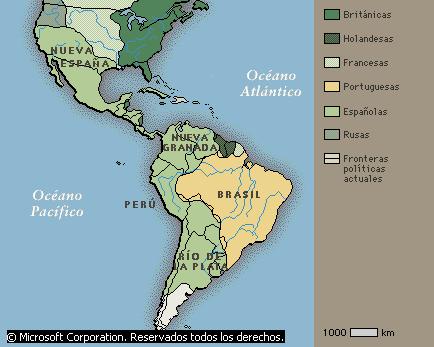 'Conquista y colonización de América'