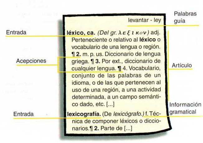 'Diccionarios'