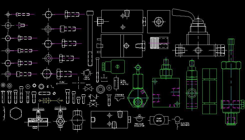 'Dibujo de elementos mecánicos'