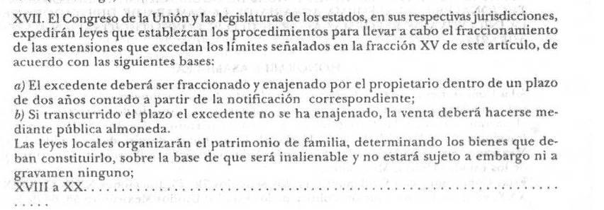 'Derecho agrario mexicano'