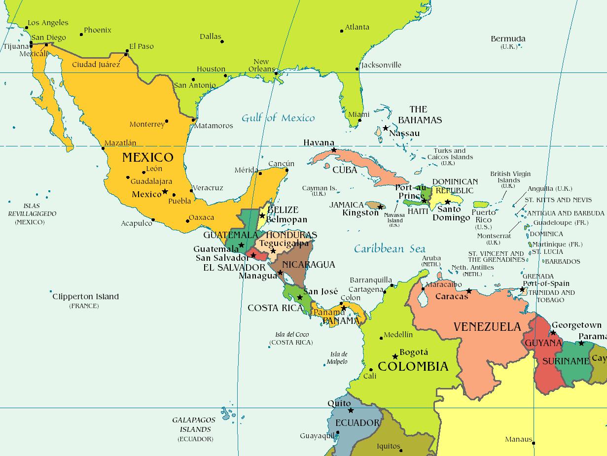'Costa Caribe colombiana {TLC}'