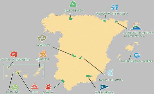 Parques nacionales españoles