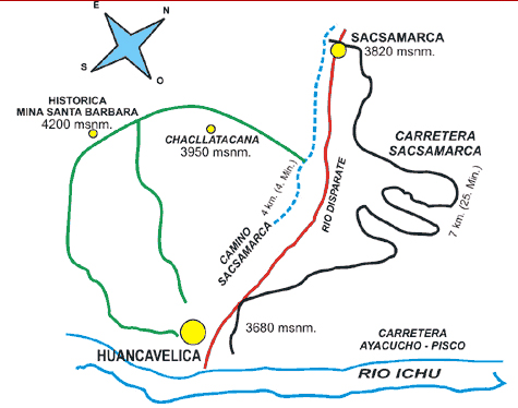 'Huancavelica, departamento de Perú'