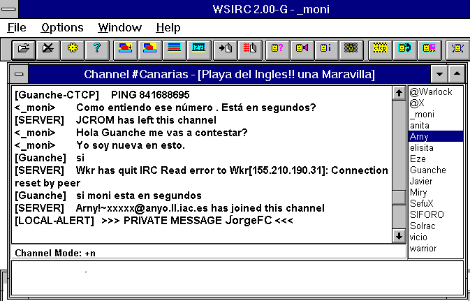 'Internet Relay Chat'