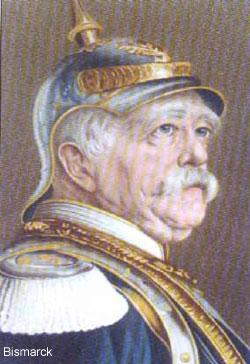 'Otto von Bismarck'