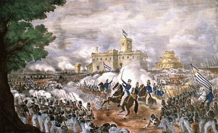 'El caudillo Juan Manuel de Rosas'