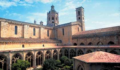 'Monestir de Santes Creus. Santa María del Mar'