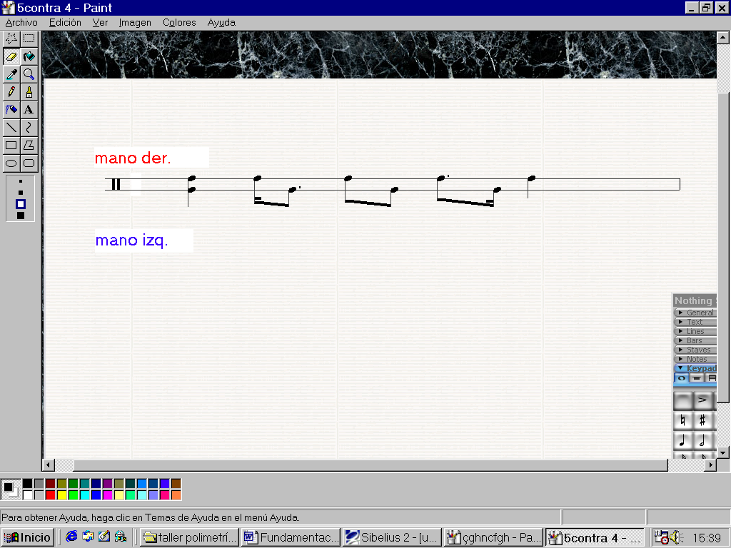 'Polimetría musical'