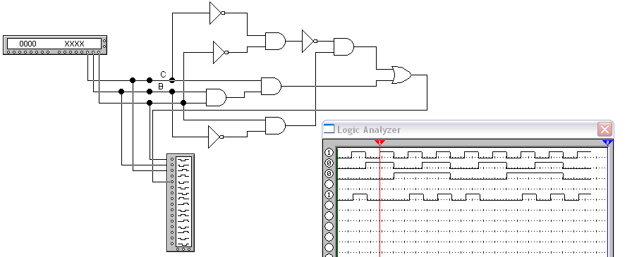 'Simplificación de circuitos lógicos y universalidad de compuertas NAND'