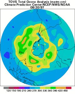 La capa de ozono