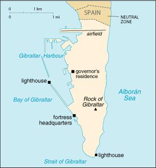 Gibraltar: cuestión internacional