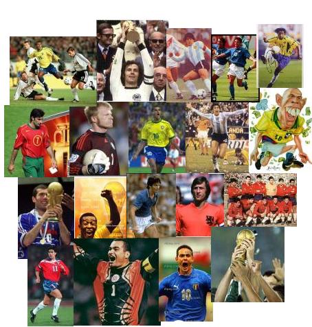 'Mundiales de fútbol'