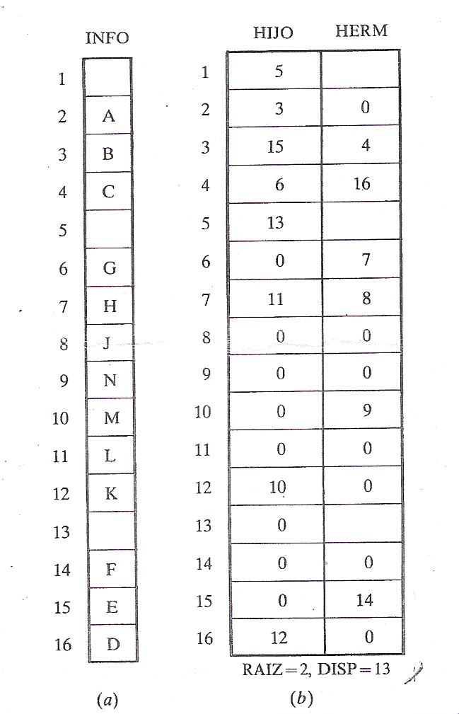 'Árboles binarios'