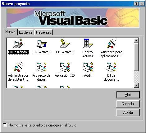 Programación en Visual Basic