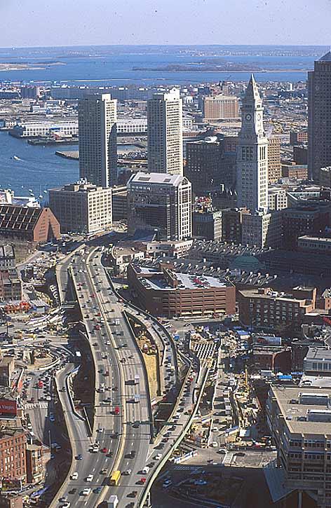 'Big dig: un camino tecnológico en Boston'