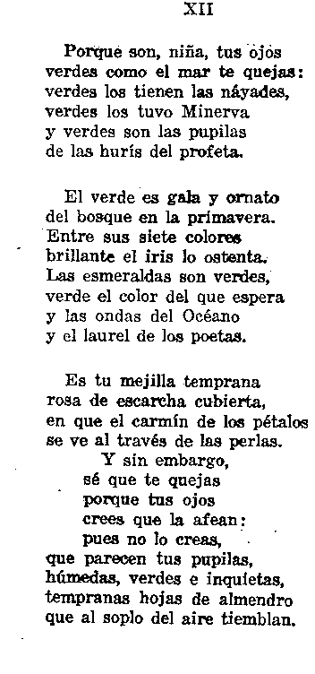 Rimas; Gustavo Adolfo Bécquer