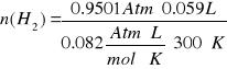 'Masa equivalente del Magnesio'