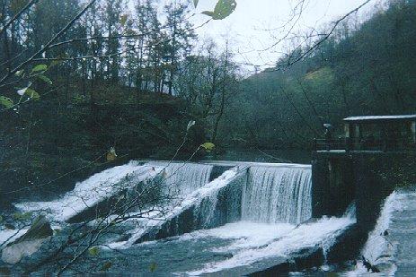 'Producción de energía hidroeléctrica'