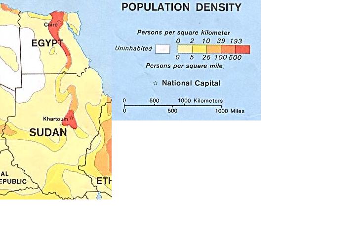 Población del Valle del Nilo