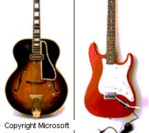 Violín. Guitarra