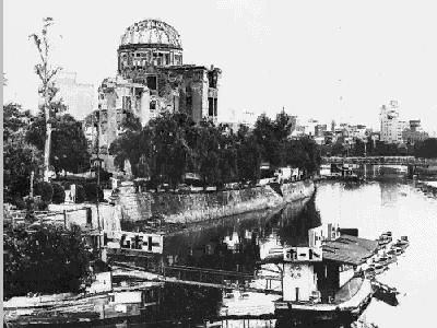 Bombas nucleares de Hiroshima y Nagasaki