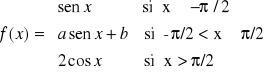 Continuidad y derivabilidad