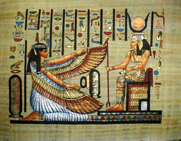 'Diosa egipcia Isis'