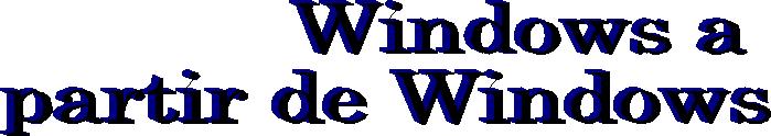 Microsoft Windows 3.11 y Windows 95
