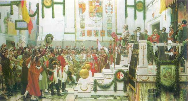 'Costituciones Espa�olas del S. XIX'