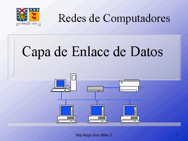 'Capa de Enlace de Datos'
