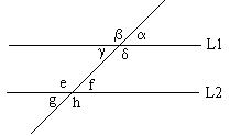 'Ángulos y triángulos'