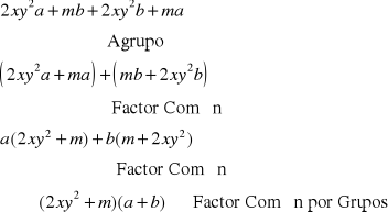 'Factorización'