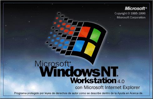 Microsoft Windows NT 4.0 o WorkStation