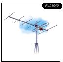 Instalación de recepción de televisión terrenal