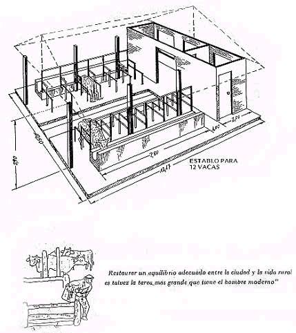 Instalación de establo