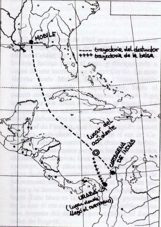 Relato de un náufrago; Gabriel García Márquez