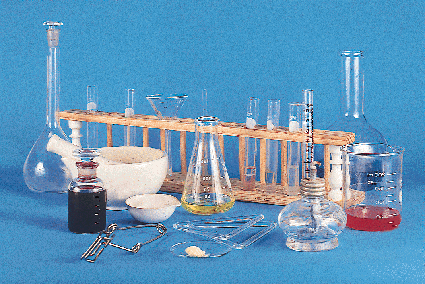 Equipos y materiales de laboratorio para química y biología