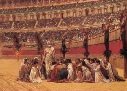 'Persecución de los cristianos durante el imperio romano'