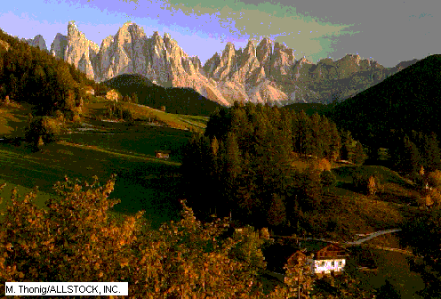 Alpes europeos