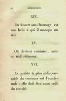 'La fisiología del gusto; Jean-Anthelme Brillat-Savarin'