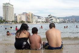 Contaminación en playas mexicanas