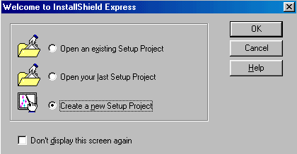 'Install Shield Express'