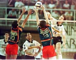 'El voleibol'