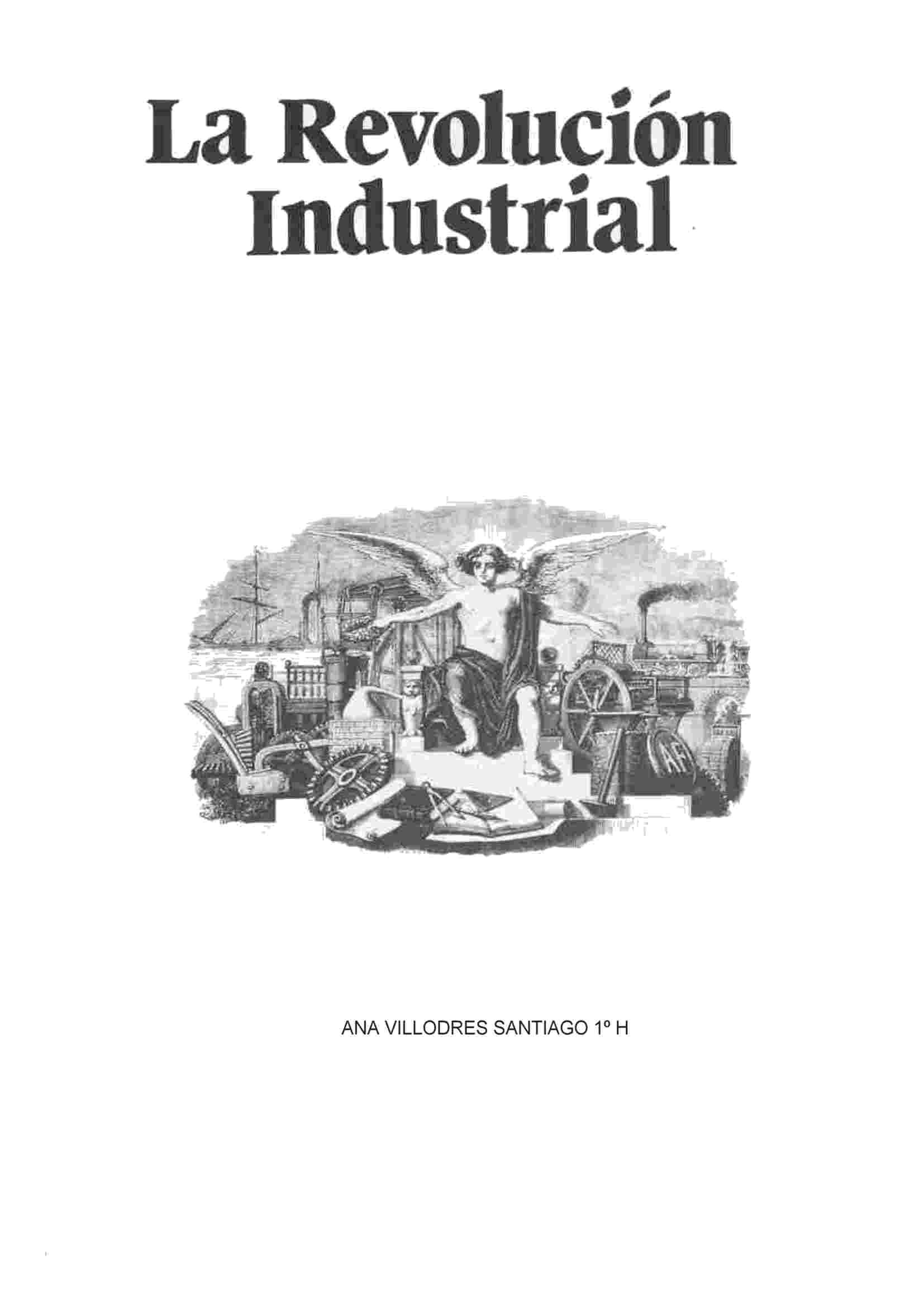 'Antecedentes y desarrollo de la Primera Revolución Industrial'