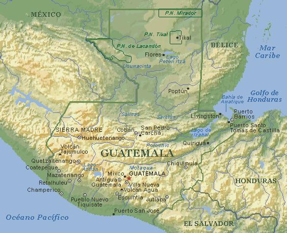 Guatemala: el país de la muerte