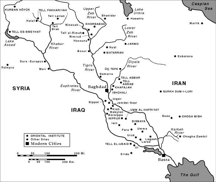 'Mesopotamia en la época de Isin y Larsa'
