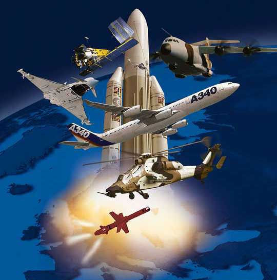Industria aeronáutica y espacial