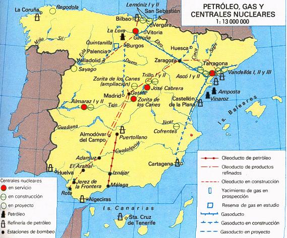'Producción de energía nuclear'