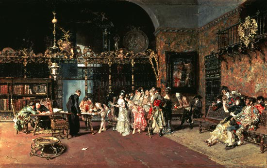 'La VIcar�a; Mariano Fortuny'