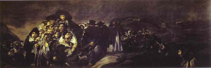 'La romería de San Isidro; Francisco de Goya'